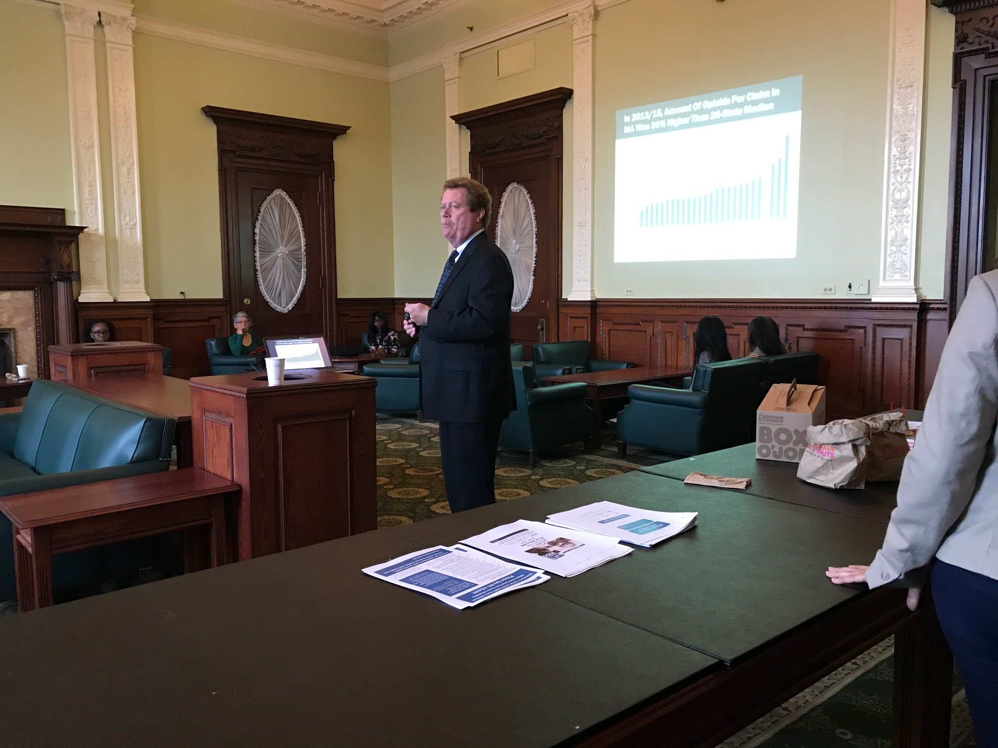 Updating Massachusetts Legislators on Our Latest Opioid Research image