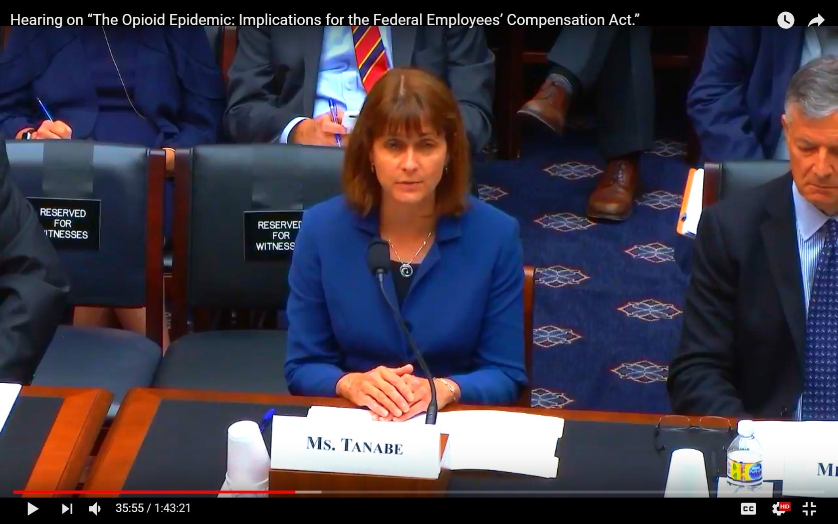 House Committee on Education & the Workforce discusses opioids and federal employees image